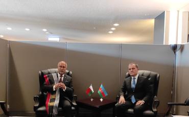 Ceyhun Bayramov Madaqaskar, Nikaraqua və Kabo-Verdenin XİN başçıları ilə görüşüb