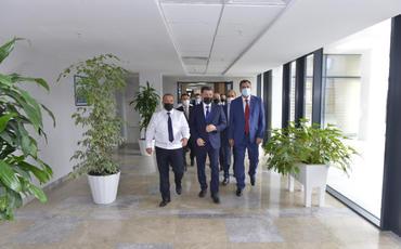 Milli Məclis üzvləri Baş Prokurorluğunun yeni inzibati bina kompleksində olublar