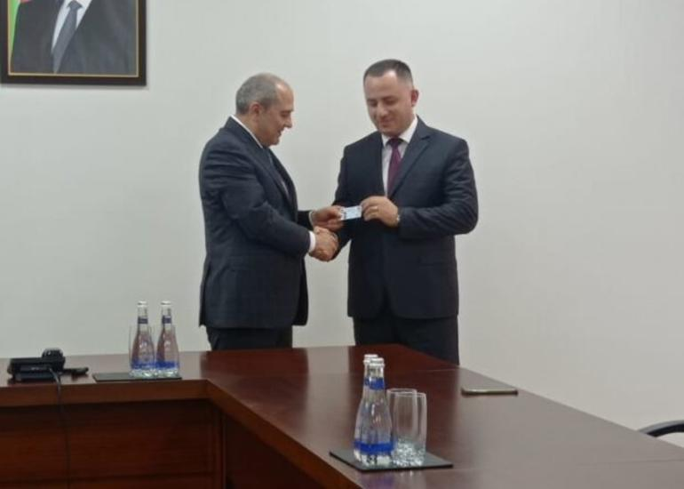 Vüqar Oruc Tahir Budaqovla görüşüb