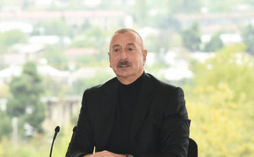 """Azərbaycan Prezidenti: """"Xalqımızın indiki və gələcək nəsilləri şəhidlərimizlə həmişə fəxr edəcək"""""""
