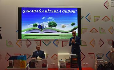 """""""Qarabağa kitabla gedək"""" layihəsinin təqdimatı keçirilib"""