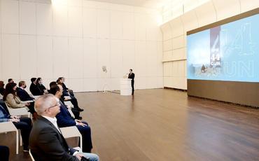Heydər Əliyev Fondunun dəstəyi ilə hazırlanan www.44days.info portalının təqdimatı olub