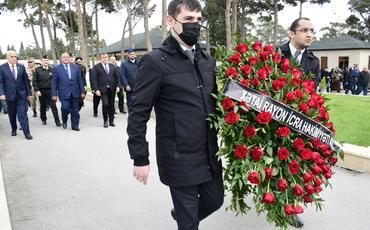 Vətən Müharibəsi şəhidi mayor Əsgərov Rüfət Mürvət oğlunun anım mərasimi keçirilib