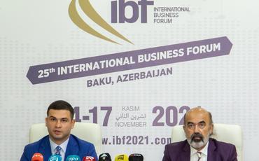 Bakıda keçiriləcək Beynəlxalq Biznes Forumla bağlımətbuat konfransı keçirilib