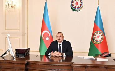 Prezident İlham Əliyev MDB Dövlət Başçıları Şurasının videokonfrans formatında keçirilən iclasında iştirak edib