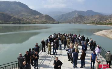 Diplomatik korpus nümayəndələri Suqovuşan su anbarında olub