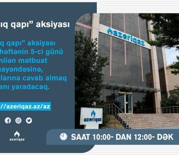 """""""AZƏRİQAZ"""" İB-nin baş direktorundan növbəti addım"""