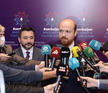 """Bilal Ərdoğan: """"Qarabağ zəfəri Azərbaycan və Türkiyənin böyük qürurudur"""""""