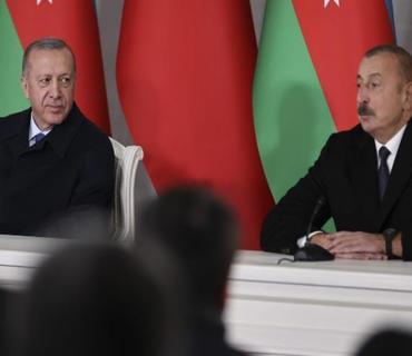 """Ərdoğan: """"İran sağlam düşüncə ilə hərəkət edərsə, Azərbaycanla arasında heç bir problem yaşanmaz"""""""