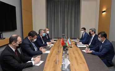 Azərbaycan-Türkiyə müştərək texnoparkının yaradılması müzakirə edilib